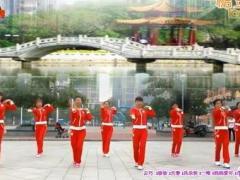 可爱妈妈广场舞《dj中国》集体版 青儿编舞