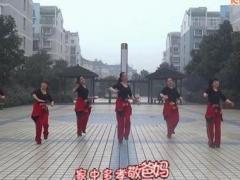 盛泽雨夜广场舞 猴年大吉棒棒哒