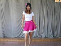 俏皮可爱韩国歌曲 真的真的喜欢你 编舞蓝莓 演示舞媚娘