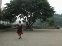 幸福天天广场舞 《最炫民族风》 正反面演示
