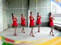 湖北天门香姿广场舞《亲爱的我爱你》团体版