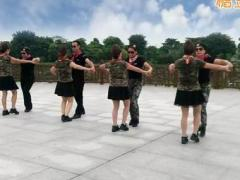 神彩广场舞 《新阿哥阿妹》 水兵舞