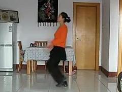 清豆豆广场舞《开门红》健身舞