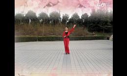 小丫广场舞《火火的爱》正反面加背面分解