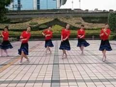 阿中中广场舞《最美的羊角花》