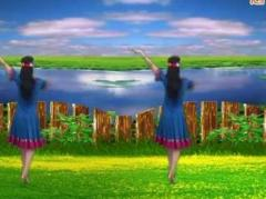 新丽莉舞蹈《爱上草原爱上你》