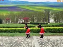 西安悠然广场舞 《洗衣歌》 藏族舞 含背面动作分解教学