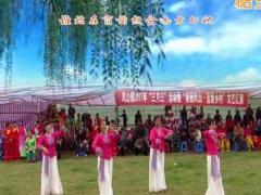 柳州彩虹队参加凤山塘进三月三活动表演 秋水伊人