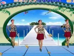 新丽莉舞蹈《红红的线》单人水兵舞
