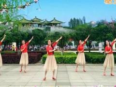 新风尚广场舞 《看月亮》 中三步 含背面动作分解教学