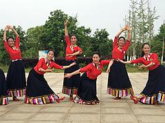 応子广场舞 《牵手今生》 含背面动作分解教学