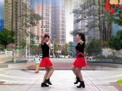 可爱妈妈广场舞 这一首旧情歌 双人对跳