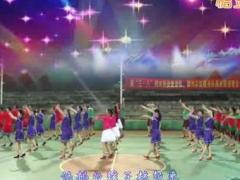 柳州彩虹队参加桐木舞友联谊晚会《祝酒歌》开场舞
