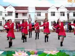 湖北天门香姿广场舞 《我爱的姑娘在草原》 团体版