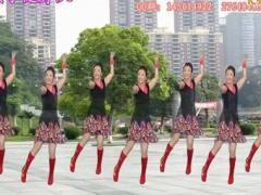 沅陵燕子广场舞 歌在飞 附背面演示