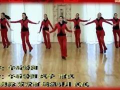 嫣然广场舞 新年报道 附応子老师背面示 南京聚会版