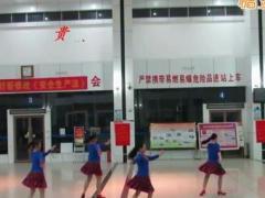 柳州彩虹健身队《天上凉都》参加同木舞友联谊会
