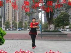 可爱妈妈广场舞《最美的你》个人版 花语编舞