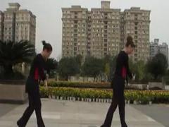 幸福天天广场舞《我的玫瑰卓玛拉》背面合作版