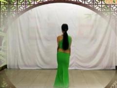 飞去来兮广场舞《月亮》傣族舞 含背面动作分解教学