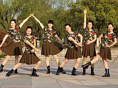 茉莉广场舞《妈妈你辛苦了》64步步子舞 含背面动作分解教学