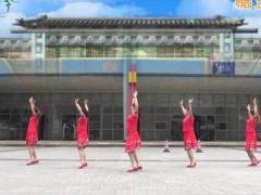 重庆叶子广场舞 《月朦胧鸟朦胧》 三步舞 含背面动作分解教学