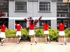 乔茜广场舞《痴情的时候最容易受伤》32步 含背面动作分解教学