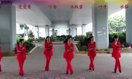 广西柳州彩虹健身队亚虎娱乐,亚虎娱乐app,亚虎777娱乐老虎机《五星红旗飘起来》编舞 春英
