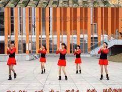 可爱妈妈广场舞《鸡年大吉》姐妹版 嘉嘉编舞