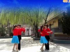 蝶依广场舞 《这首歌唱给你》 双人舞中三 含背面动作分解教学