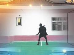 飞去来兮广场舞《雨》街舞健身舞 含背面动作分解教学