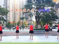 可爱妈妈广场舞《情为何物》集体版 杨丽萍 编舞