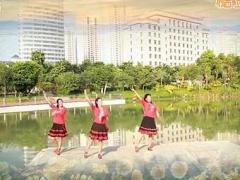 柳州彩虹健身队姊妹花亚虎娱乐,亚虎娱乐app,亚虎777娱乐老虎机 《卓玛的爱恋》 编舞张春丽