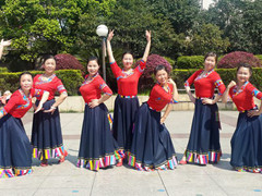 応子广场舞 《雪域神话》 含背面动作分解教学