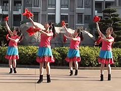 茉莉广场舞 《我是固安人》 手绢花健身舞 含背面动作分解教学