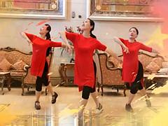 応子广场舞 《不忘初心》 含背面动作分解教学