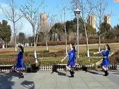 嫣然广场舞 蓝月山谷 编舞:廖弟