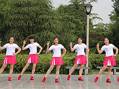 茉莉广场舞 《放下手机》32步步子舞 含背面动作分解教学