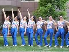 杨丽萍广场舞 《让爱领舞》 含背面动作分解教学