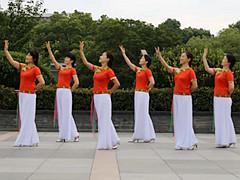 茉莉广场舞 《嘎域明珠》 中三抒情优美舞 含背面动作分解教学