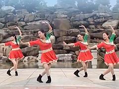 茉莉广场舞 《大风来了浪一浪》 藏族风轻松快乐 含背面动作分解教学