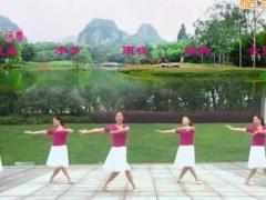 盛泽雨夜广场舞 《相逢是首歌》 中三舞 含背面动作分解教学