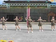重庆叶子广场舞 《最美的草原遇见你》 水兵舞 含背面动作分解教学
