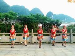 新风尚广场舞 《跳月》 少数民族风 含背面动作分解教学