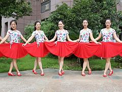 杨丽萍广场舞 《爱的深伤的深》 原创韵律广场舞 含背面动作分解教学