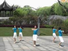 苏州雨夜广场舞 《这样的感觉真好》 圈舞 含背面动作分解教学