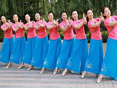 云裳广场舞 《梦缠绵》 柔美古典舞 含背面动作分解教学