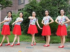 杨丽萍广场舞 《爱让我们在一起》 中三舞 含背面动作分解教学