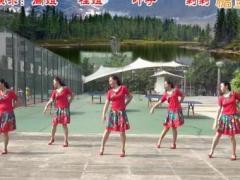 重庆叶子广场舞 《春暖花开回故乡》 三步舞 含背面动作分解教学