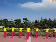 舞动旋律2007广场舞 《红歌串烧》 创意四连跳